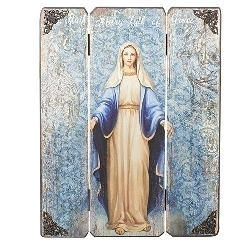 Our Lady of Grace Decorative Panel