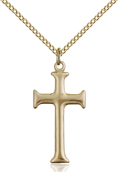 Gold Filled Cross Pendant