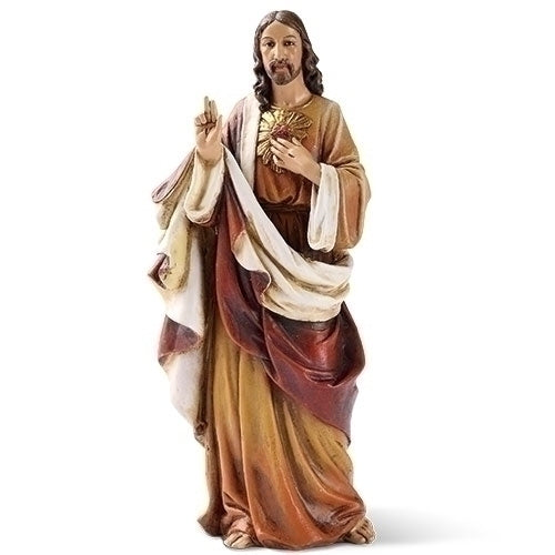 Sacred Heart of Jesus Figure/Statue, 6.25""