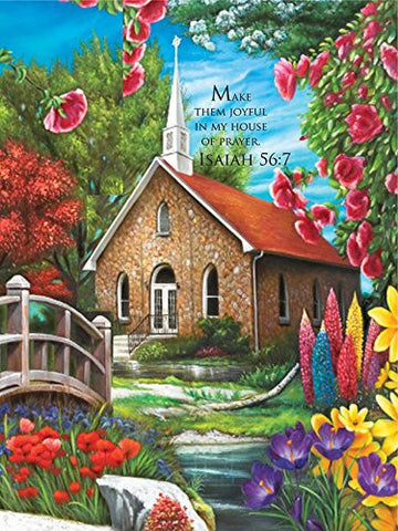 Inspirations 1000 Piece Puzzle - Serenity Church