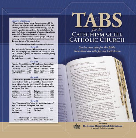 Catechism Tabs