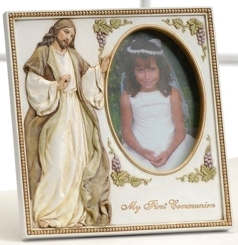 First Communion Jesus Frame
