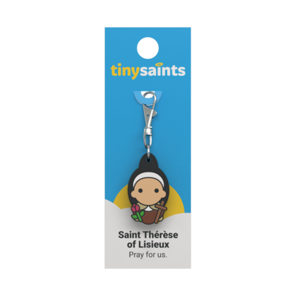 Tiny Saints Charm - St. Therese of Lisieux