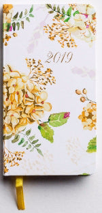 Premium Inspirational Pocket Planner 2019 The Beauty Of His Word/Floral