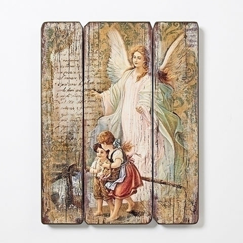 Guardian Angel Decorative Panel