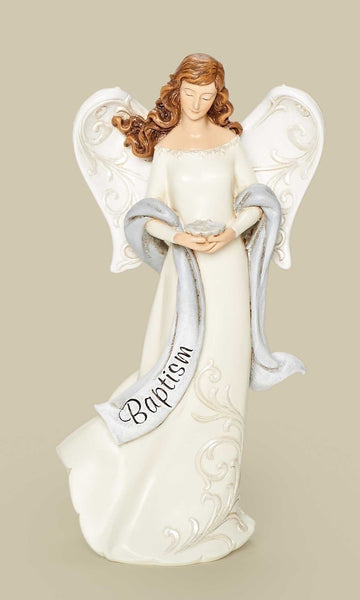 "7.5"" Baptism Angel Figure"
