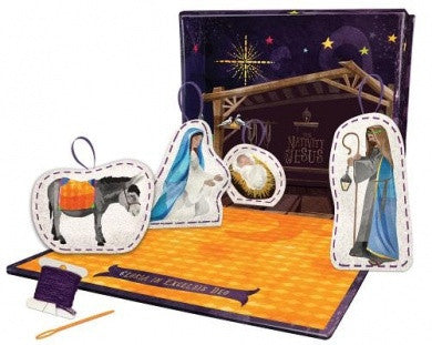 Nativity Ornament Sewing Kit