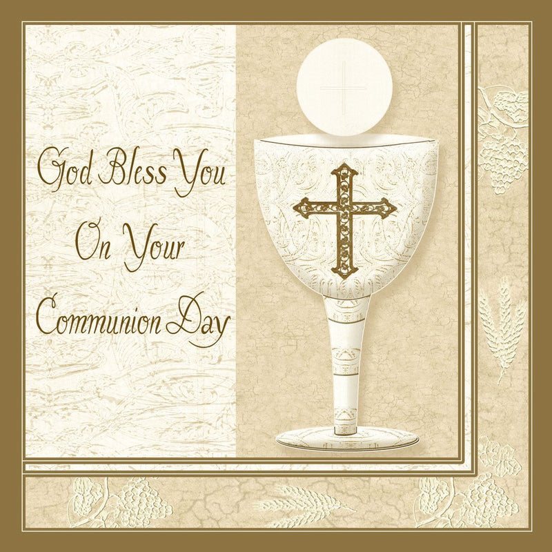 Napkin First Communion Chalice