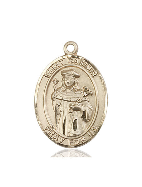 14kt Gold St. Casimir of Poland Medal