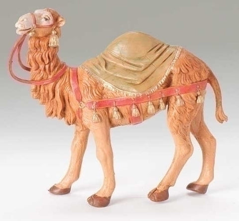 "Camel with Blanket Figure 5"" Scale [Fontanini]"