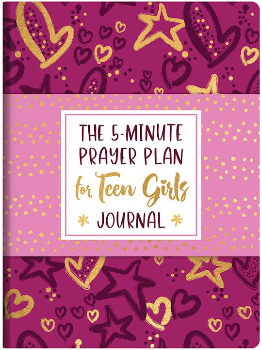 5-Minute Prayer Plan For Teen Girls Journal
