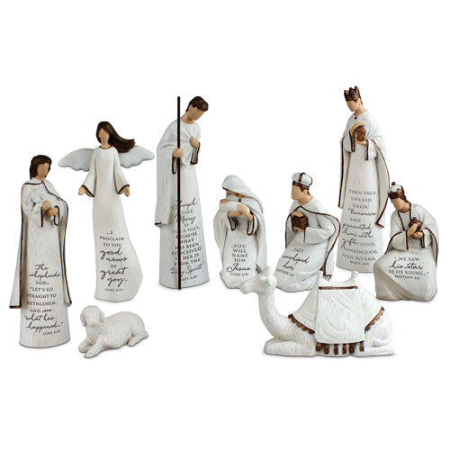 A Savior Is Born Nativity Set