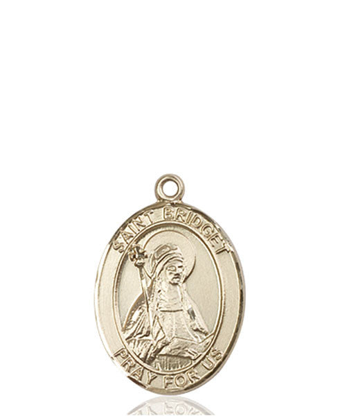 14kt Gold St. Bridget of Sweden Medal