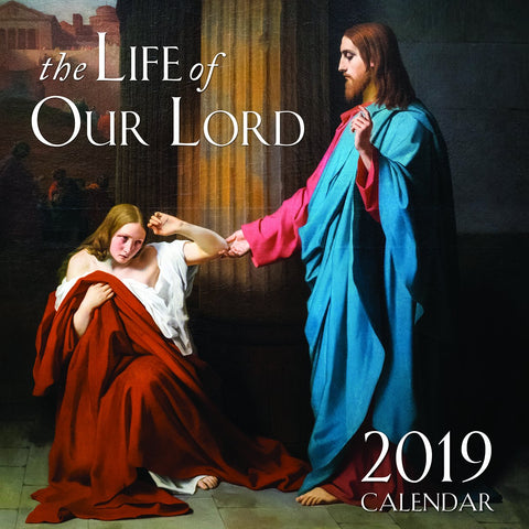 The Life of Our Lord Wall Calendar 2019