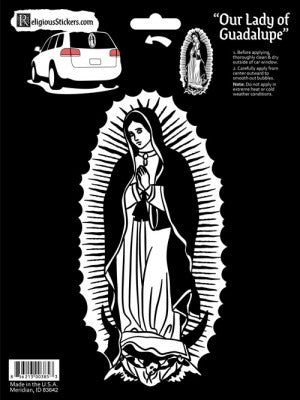Our Lady of Guadalupe Auto Sticker