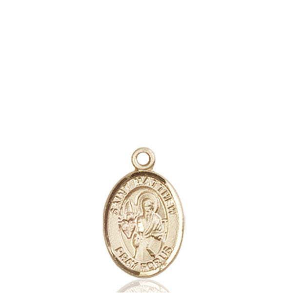 14kt Gold St. Matthew the Apostle Medal