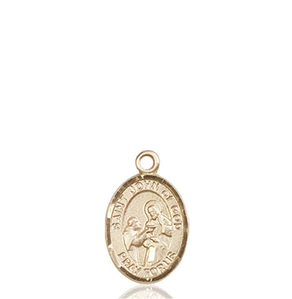 14kt Gold St. John of God Medal