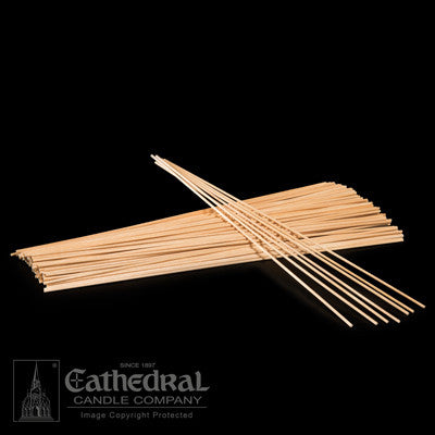 Wood Lighting Sticks (THIN) | (1/12 x 12)