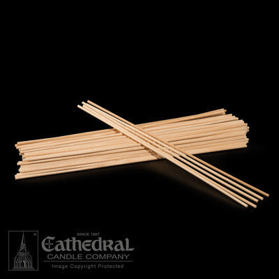 Wood Lighting Sticks (THICK) | (1/8 x 12)