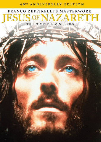 Jesus of Nazareth: The Complete Miniseries (40th Anniversary ed.) [DVD]