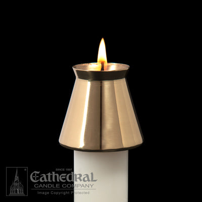 Brass Cathedral Style Follower | 1-1/2""
