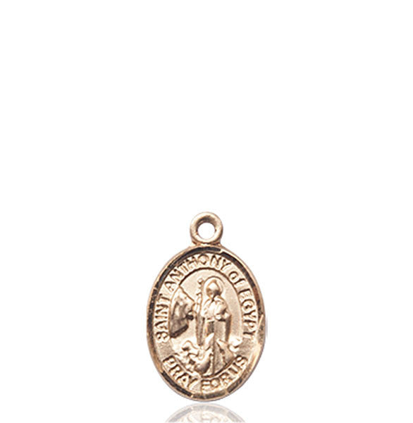 14kt Gold St. Anthony Of Egypt Medal