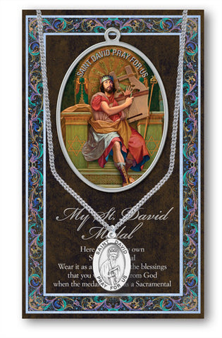 St. David Necklace & Chain with Picture Folder