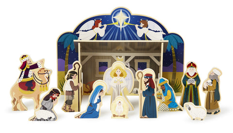 Nativity Set Wooden [Melissa and Doug]