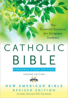 The Catholic Bible Personal Study Edition NABRE