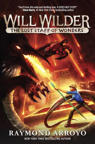 Will Wilder #2: The Lost Staff of Wonders [paperback]