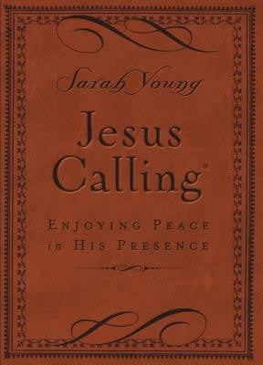 Jesus Calling: Enjoying Peace in His Presence (Deluxe)