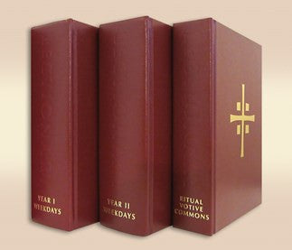 Lectionary for Mass, Three-volume Weekday Chapel Edition set