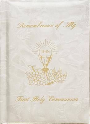 Remembrance of My First Holy Communion-Girl-White Pearl