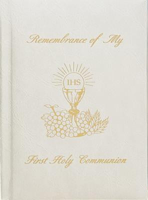 Remembrance of My First Holy Communion-Girl-White Edges