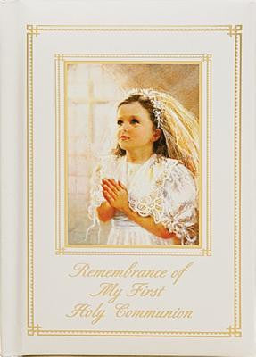 Remembrance My First Holy Communion Girl