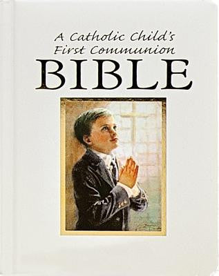 A Catholic Child's First Communion Bible-Blessings-Boy