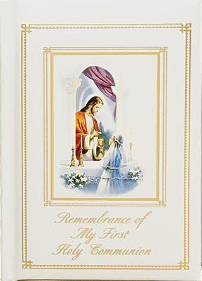 Remembrance of My First Holy Communion-Traditions-Girl