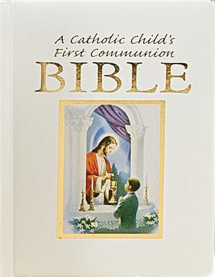 A Catholic Child's First Communion Bible-Traditions-Boy