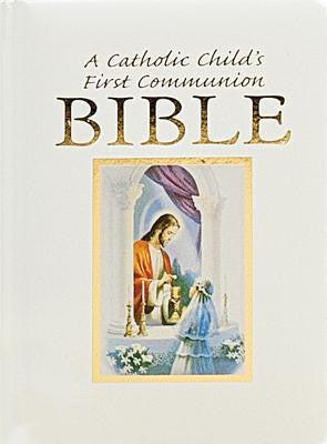 A Catholic Child's First Communion Bible-Traditions-Girl