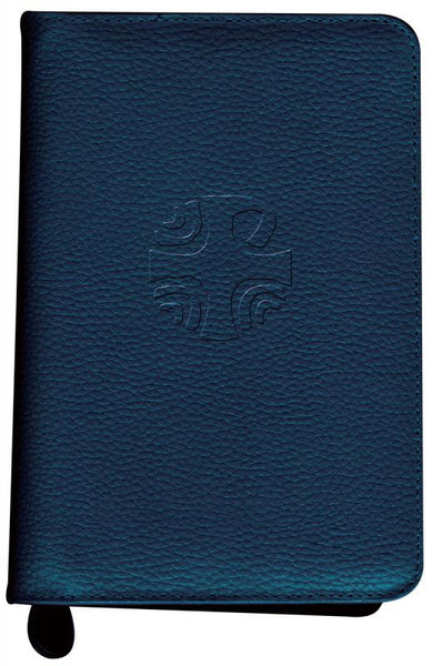 Liturgy of the Hours Leather Zipper Case (Vol. I) (Blue)