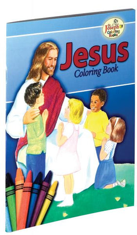 Coloring Book About Jesus
