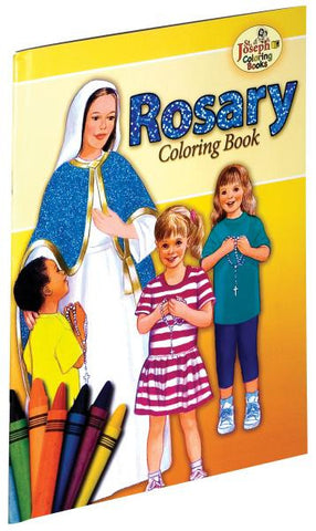 Coloring Book About The Rosary
