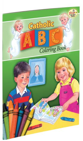 Catholic ABC Coloring Book