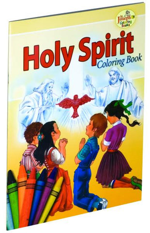 Coloring Book About The Holy Spirit
