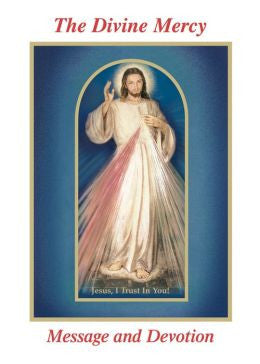 The Divine Mercy Message and Devotion: With Selected Prayers from the Diary of St. Maria Faustina Kowalska (Revised) Large Print