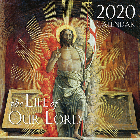 The Life of Our Lord Catholic Wall Calendar 2020
