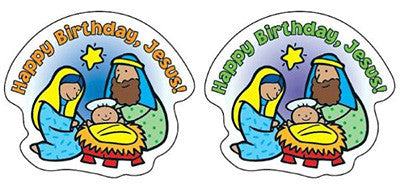 Happy Birthday, Jesus! Stickers