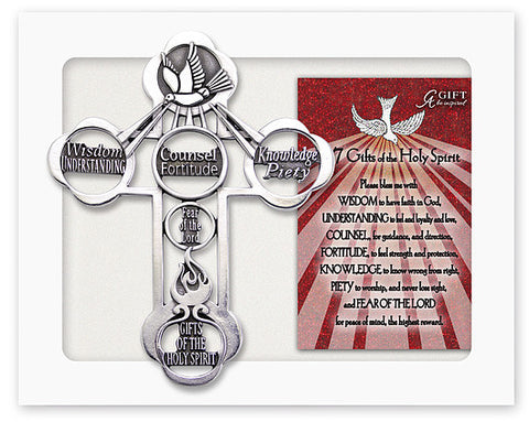 Gifts Of The Holy Spirit Mess Cross Gift Boxed