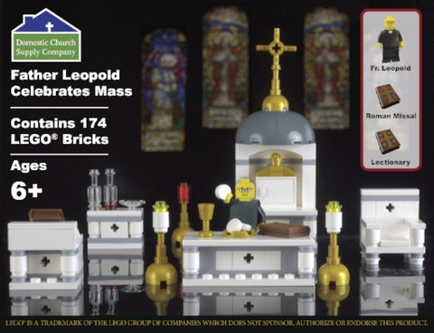 Father Leopold Celebrates Mass LEGO® Set