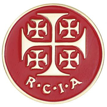 RCIA Red Lapel Pin
